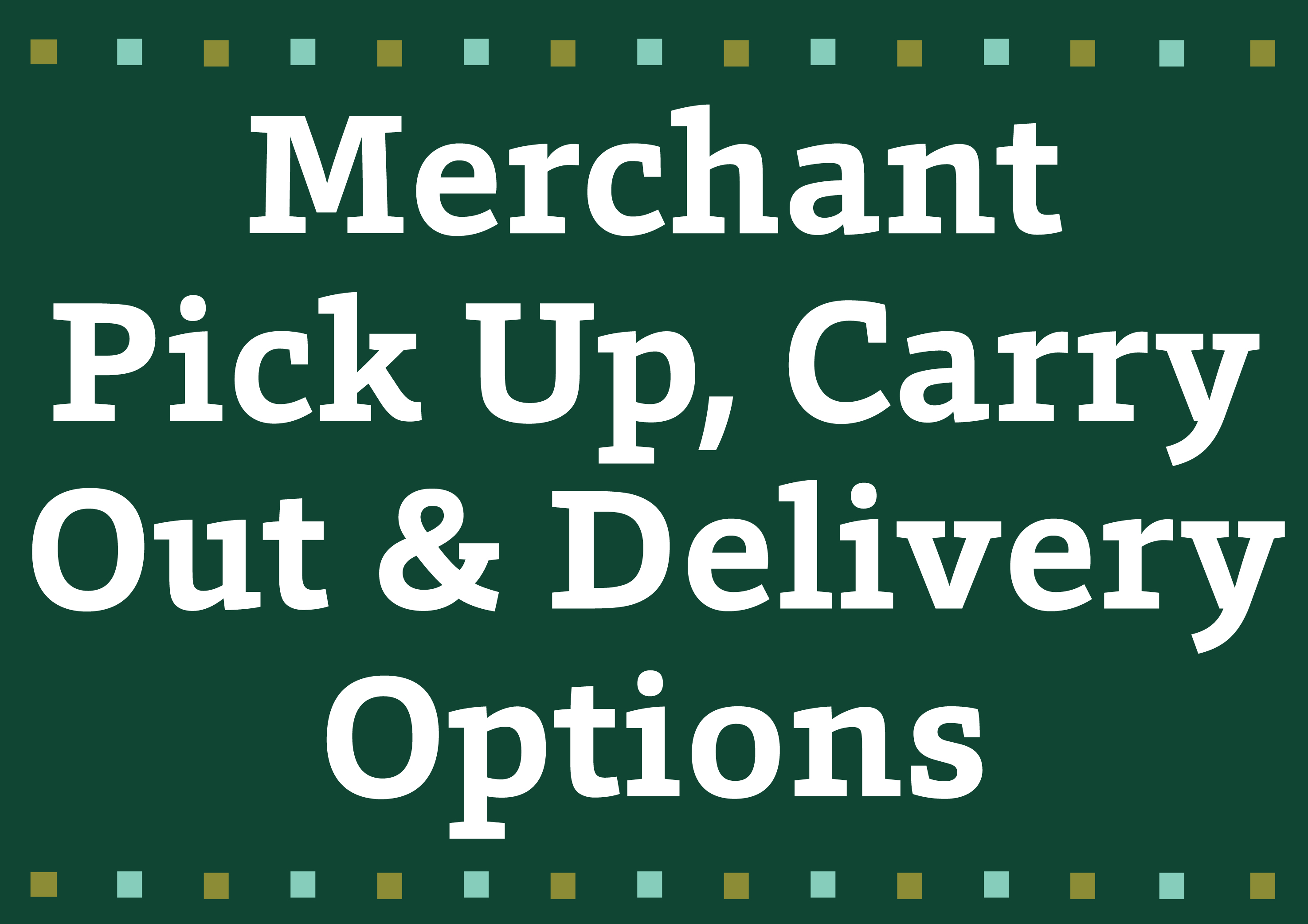 Carryout options 01