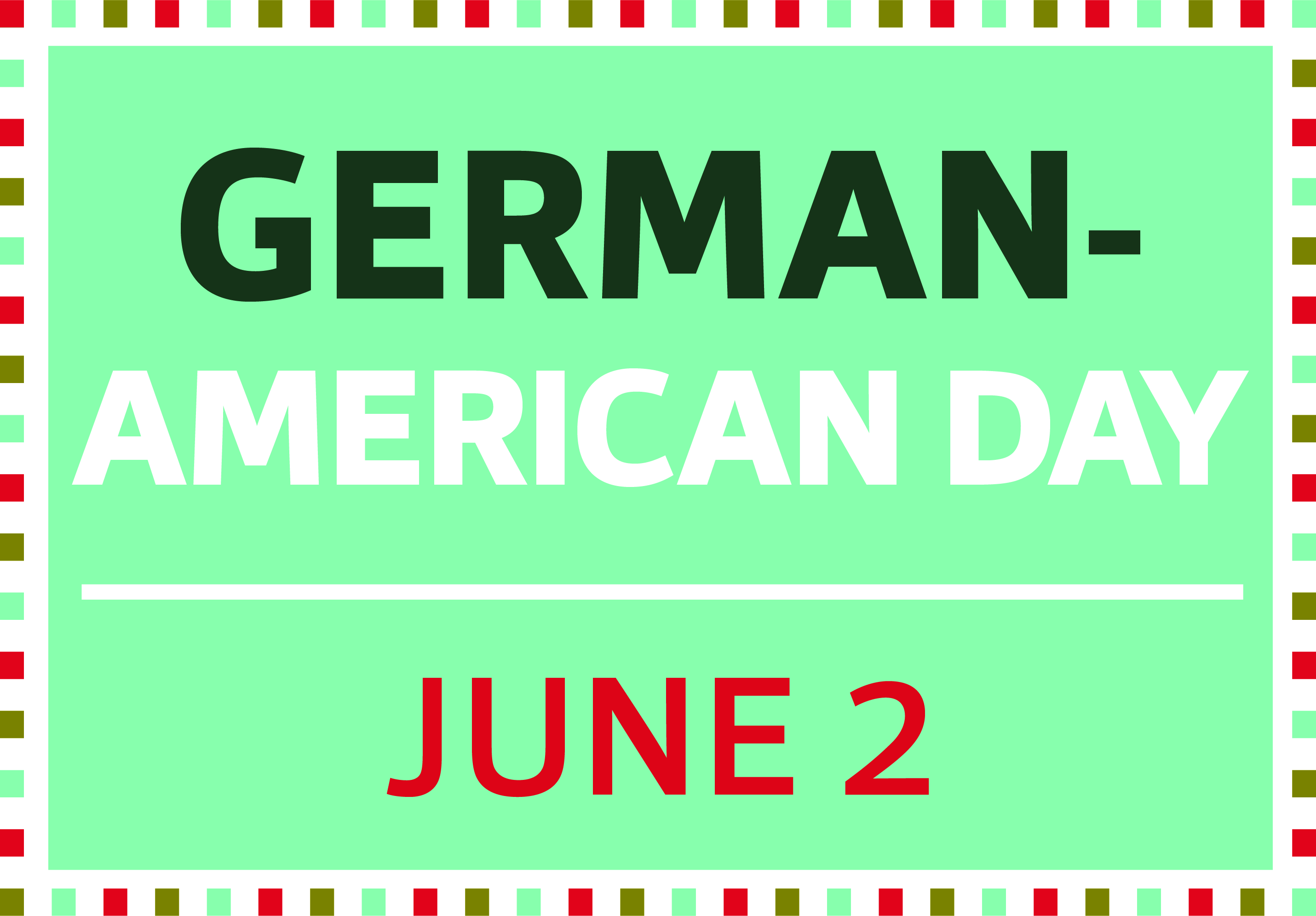 German day webslider