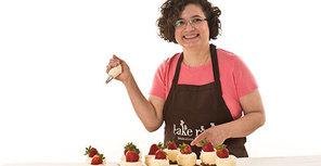 Tile cake rack